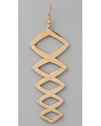 House of Harlow 1960 - Metallic Geometric Dangle Earrings - Lyst