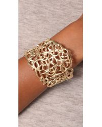House of Harlow 1960 - Metallic Large Antler Cuff - Lyst