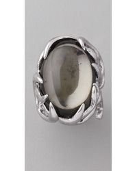 House of Harlow 1960 | Metallic Antler Ring with Oval Cabochon | Lyst