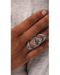 House of Harlow 1960 | Metallic Armor Claw Ring | Lyst