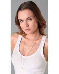 Jennifer Zeuner | Metallic Hanging Butterfly Necklace | Lyst