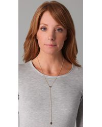 Jennifer Zeuner - Yellow Mini Eye & Hamsa Necklace - Lyst