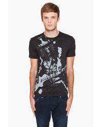 John Varvatos - Gray Slash Rockout T-shirt for Men - Lyst