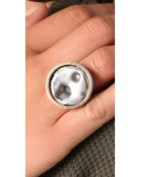Low Luv by Erin Wasson - Metallic Cambodian Coin Ring - Lyst