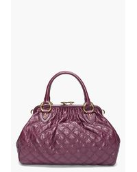 Marc Jacobs | Purple Stam Bag | Lyst