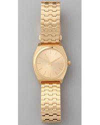 Nixon - Metallic Oversized Time Teller Watch - Lyst