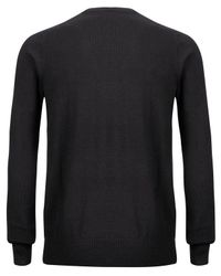 Paul Smith - Black Basket Weave Knitted Jumper for Men - Lyst