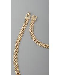 Rachel Leigh - Metallic Society Statement Bib Necklace - Lyst