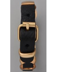 Rebecca Minkoff - Black Mini Sling Bracelet - Lyst
