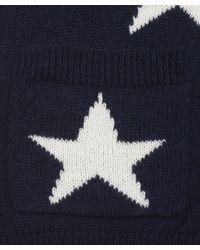 Sea - Blue Navy Star Print Cardigan - Lyst