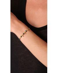 Shashi - Metallic Indian Bead Shashi Bracelet - Lyst