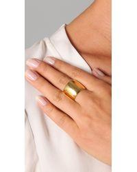 Tom Binns - Metallic Cigar Ring - Lyst