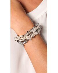 Tom Binns - White Passive Attack Safety Pin Bracelet - Lyst