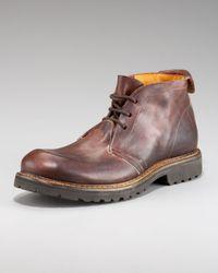 True Religion Brown Sal Chukka Boot for men