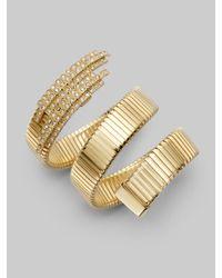 Ca&Lou | Metallic Snake Coil Bracelet | Lyst