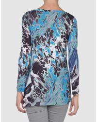Emilio Pucci - Blue Emilio Pucci - Long Sleeve T-shirts - Lyst