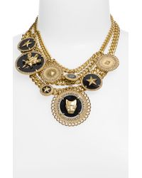 Givenchy   Metallic Charms Statement Necklace (nordstrom Exclusive)   Lyst