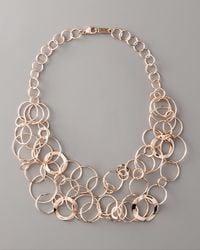 Ippolita | Pink Rose Multi-link Necklace | Lyst