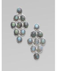 Ippolita - Metallic Labradorite & Sterling Silver Earrings - Lyst