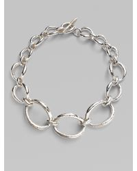 Ippolita - Metallic Sterling Silver Art Link Necklace - Lyst
