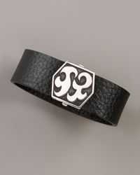 John Hardy - Black Dayak Leather Bracelet for Men - Lyst