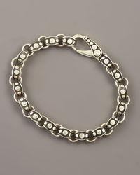 John Hardy - Metallic Dot Link Bracelet for Men - Lyst