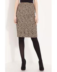 Lida Baday | Brown Tweed Skirt | Lyst