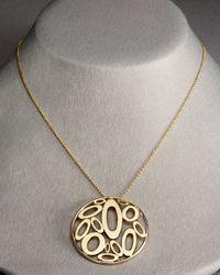 Roberto Coin | Metallic Chic & Shine Pendant Necklace | Lyst