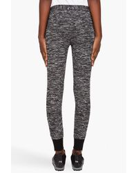 3.1 Phillip Lim | Black Drawstring Sweatpants with Ankle Zips | Lyst
