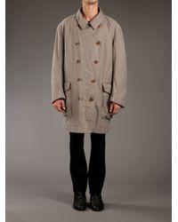 Kolor   Beige Double Breasted Coat for Men   Lyst
