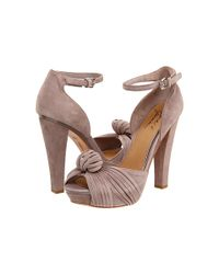 Badgley Mischka | Natural Mark & James Flirty Heels | Lyst