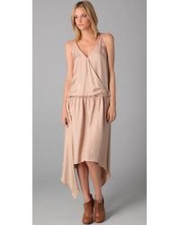 Therese Rawsthorne | Natural Star Crossed Silk Dress | Lyst