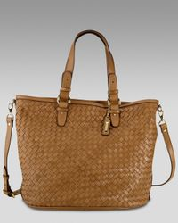 Cole Haan | Brown Logan Tote | Lyst