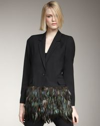 Elizabeth and James - Black Jacques Holiday Blazer - Lyst