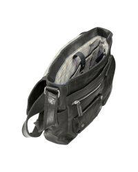 Fossil | Black Decker Ew - Leather Messenger Bag for Men | Lyst