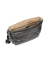 Fossil | Black Desperado Ew - Leather Laptop Messenger Bag for Men | Lyst