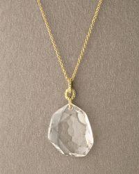 H Stern | White Dvf Rock Crystal Quartz Pendant | Lyst