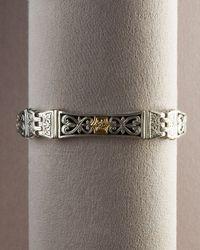 Konstantino - Metallic Zeus Bracelet for Men - Lyst
