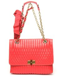 Lanvin | Pink Medium 'happy' Shoulder Bag | Lyst