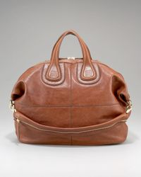 Givenchy | Brown Medium Zanzi Nightingale Satchel | Lyst