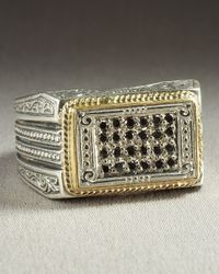 Konstantino | Metallic Adonis Pave Ring for Men | Lyst