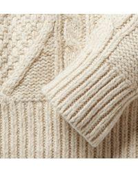 Polo Ralph Lauren - Natural Aran Sweater for Men - Lyst