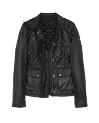 Belstaff | Black Quilted Blouson Jacket | Lyst