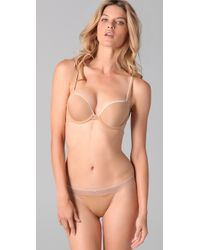 Calvin Klein - Natural Naked Glamour Push Up Bra - Lyst