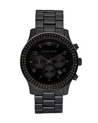 Michael Kors | Blackout Glitz Watch | Lyst