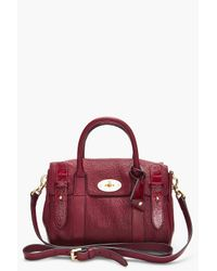 Mulberry | Brown Bayswater Satchel | Lyst