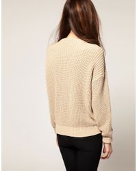 American Apparel | Natural Fisherman Jumper | Lyst