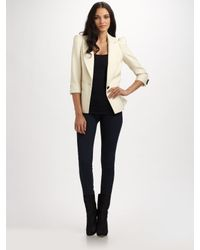 Smythe | White Wool Blazer | Lyst