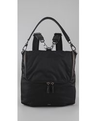 Anya Hindmarch | Black Maxi Zip Backpack | Lyst
