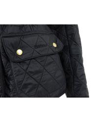 Barbour   Blue Black International Polarquilt Jacket for Men   Lyst